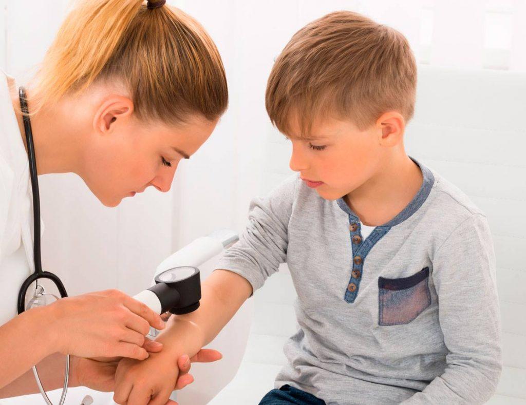 Unidad médica Dermatología Pediátrica