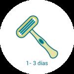 metodo de depilación cuchilla
